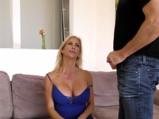 Fetish wife gets facial