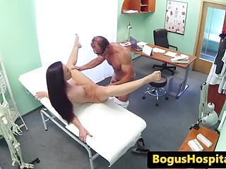 Inked euro patient railed by the doctor