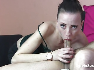 My Young GF Sloppy Deepthroat Face Fuck