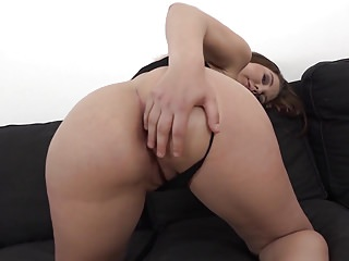 Black Cock Fucks Thick Ass Teen and Cums in her mouth