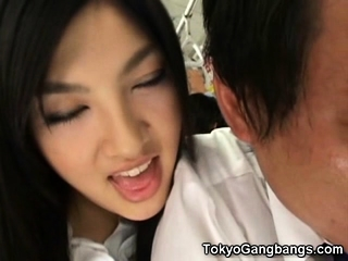 Perverted Japanese Girl In Public!
