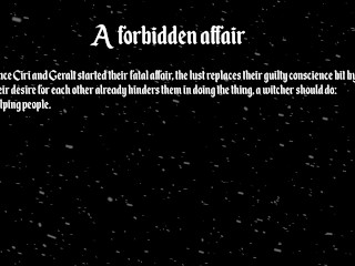 The Witcher - A forbidden affair (Ciri & Geralt)