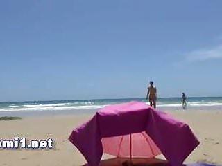 inconnu de la plage