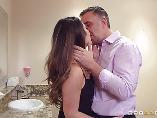 Brazzers - Eva Lovia gets pounded in the bathroom