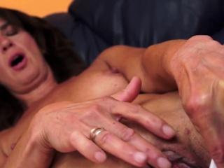Grandma slut gets facial