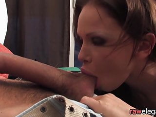 Lingerie babe doggystyle and assfucked