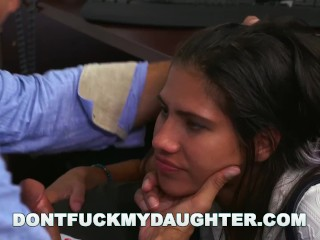 DON'T FUCK MY DAUGHTER - Bring Daughter to Work Day ith Victoria Valencia