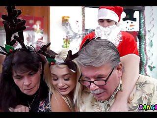Slobbing on Santa