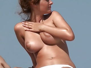 Hot Tits at the Beach