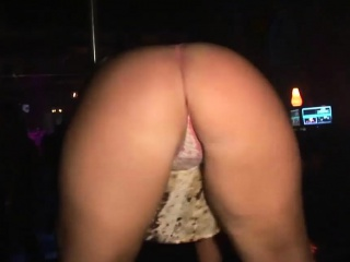 Sexy girls have fun at the party