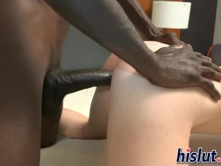 Fucking and covering her pussy with juices