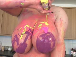 Gina G Melons Painting