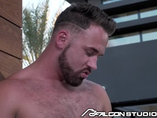 FalconStudios Logan and Jack Share Intense Passionate Embrace