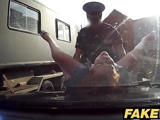 Fake Cop Unfaithful girlfriend feels the cops cock