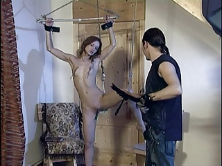 Slave girl whipped tortured and humiliated.
