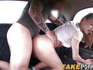 Perfect babe Victoria nailed doggystyle till cumshot