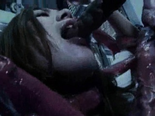 She is a Cum Bucket For Tentacles!
