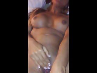Shoving A Big Cucumber Up Her Pussy - POV