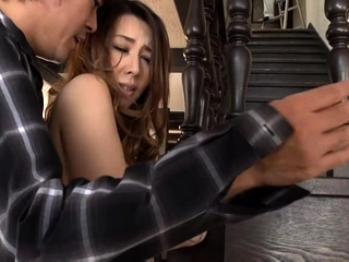 Amateur Asian does doggystyle with boyfriend