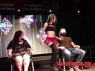 Striptease de Laisha Bala en el VEP 2018