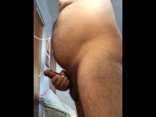 Daddy Quickie Jerking Off While Watching Porn...Must See!