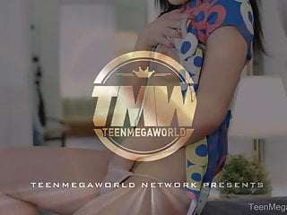 TeenMegaWorld - Anal-Angels - Solo part ends with a duet