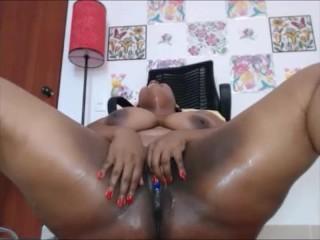 Ebony bbw squirt compliation