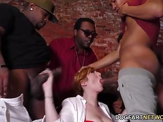 Lauren Phillips Interracial Gangbang