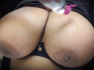Big Oiled Titties
