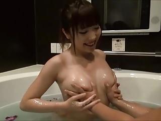 Erotic Lotion Bath Time