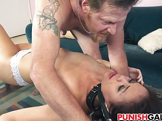 Punishing cheating GF Blair Summers