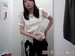 Real Japanese Girl Changing Room