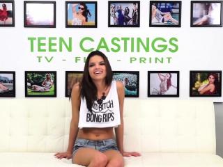 Brunette Teen Arianna Bondaged