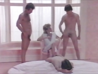 Ginger Lynn, Buck Adams, Marc Wallice, Tom Byron