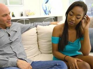 Ebony Cutie Daya Knight Gets Her Pussy Licked Off