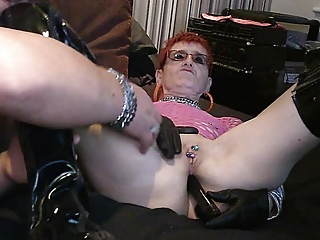 My Dirty English Milf Anal Vibrator
