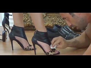 Her patethic slave