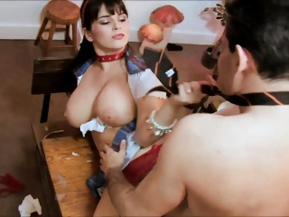 Horny teachers could not take it home but screw hardcore at the office