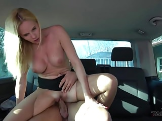Takevan - Broken nylons in extremely wild sex with MILF