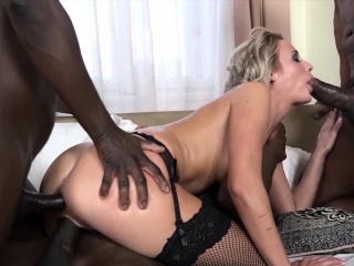 Babe likes it better with big dicks and pussy smashed