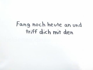Schlankes Deutsches Teen