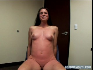 Assfucked LEAH STEVENSON A2M Cum Swallow - Load My Mouth
