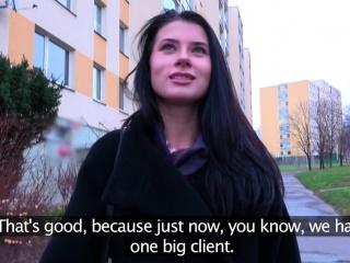 Public Agent Big dick fucks sexy Russian