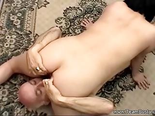 Fucking The Big Tit BBW Amateur