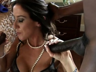Blond milf darksome dick joy