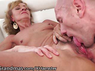 LustyGrandmas Hairy Granny Eaten and Drilled to Satisfaction