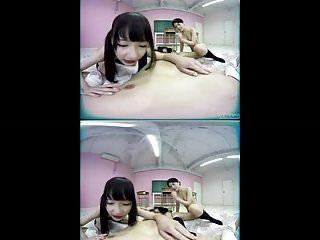 JAV VR Shuri Atomi and Ai Mukai schoolgirls