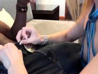 Beautiful White Wife Impregnated by her Black