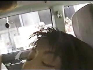 TV reoporter shooting cum on street
