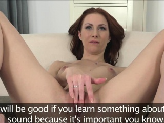 Amateur beauty squirted with cum at casting